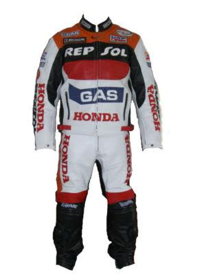 Honda REPSOL Gas Motorcycle Leather SUIT