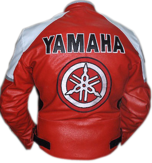 Motorbike Leather Jacket YAMAHA Brand