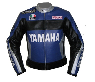 Yamaha Duhan 46 motorcycle racing leather jacket