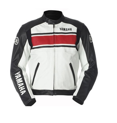 Yamaha biker racing leather jacket