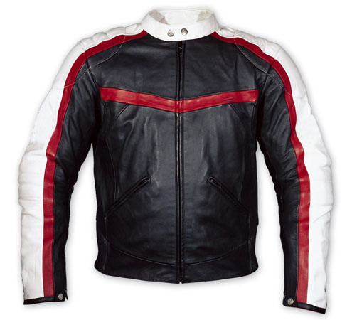 Motorcycle Fashion Leather Jacket